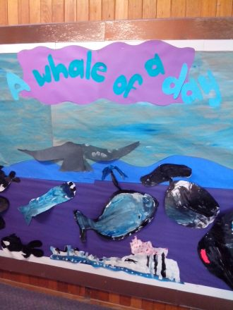 Having 'A Whale of a Day' at Mount Nelson Primary School